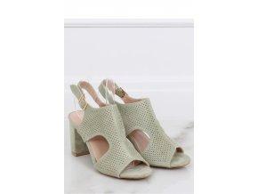 Sandále na opätkoch model 143176 Inello