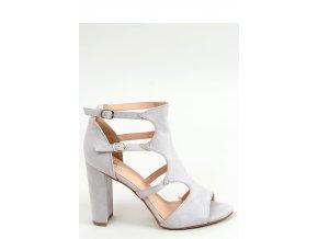 Sandále na opätkoch model 155609 Inello