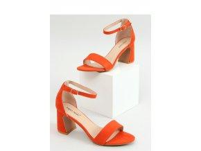 Sandále na opätkoch model 154472 Inello