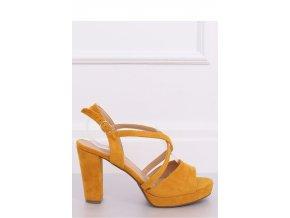 Sandále na opätkoch model 142091 Inello