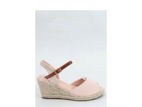 Sandále na opätkoch model 153909 Inello