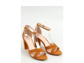 Sandále na opätkoch model 155596 Inello