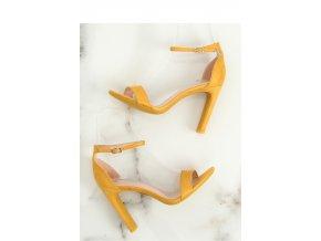 Sandále na opätkoch model 128140 Inello