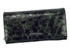 Gregorio Kožená zelená dámska peňaženka v darčekovej krabičke