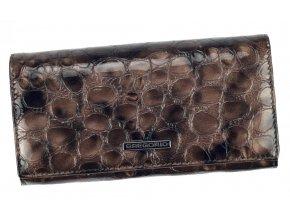 Gregorio Kožená sivá dámska peňaženka v darčekovej krabičke