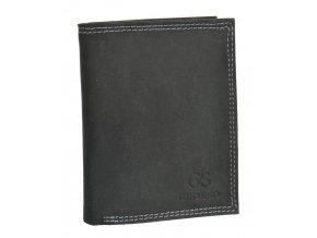 Pánska peňaženka z brúsenej kože RFID v krabičke GROSSO