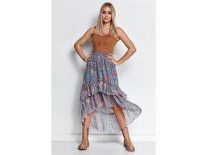 Dlhá sukňa model 153167 Makadamia