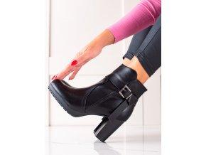 Luxusné členkové topánky dámske