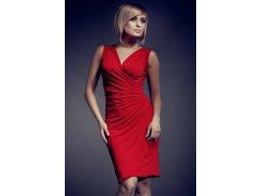 šaty sukienka 053 czerwona - Figl