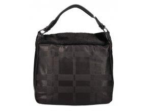 Kombinovaná veľká dámska kabelka Tommasini čierna