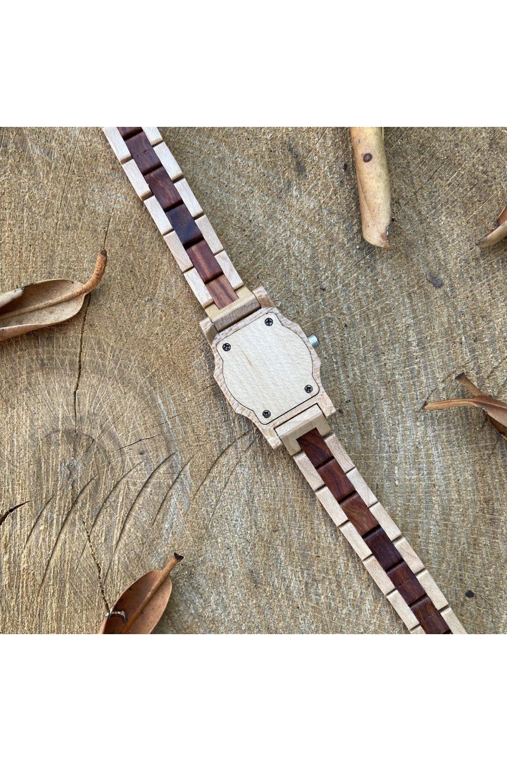 Dřevěné hodinky Tereza