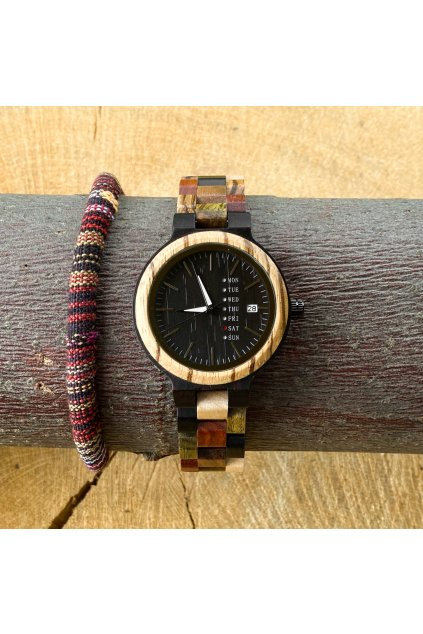 Dřevěné hodinky Andrea