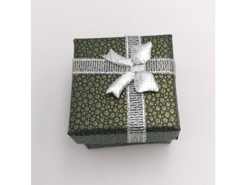 Dárková krabička zelená