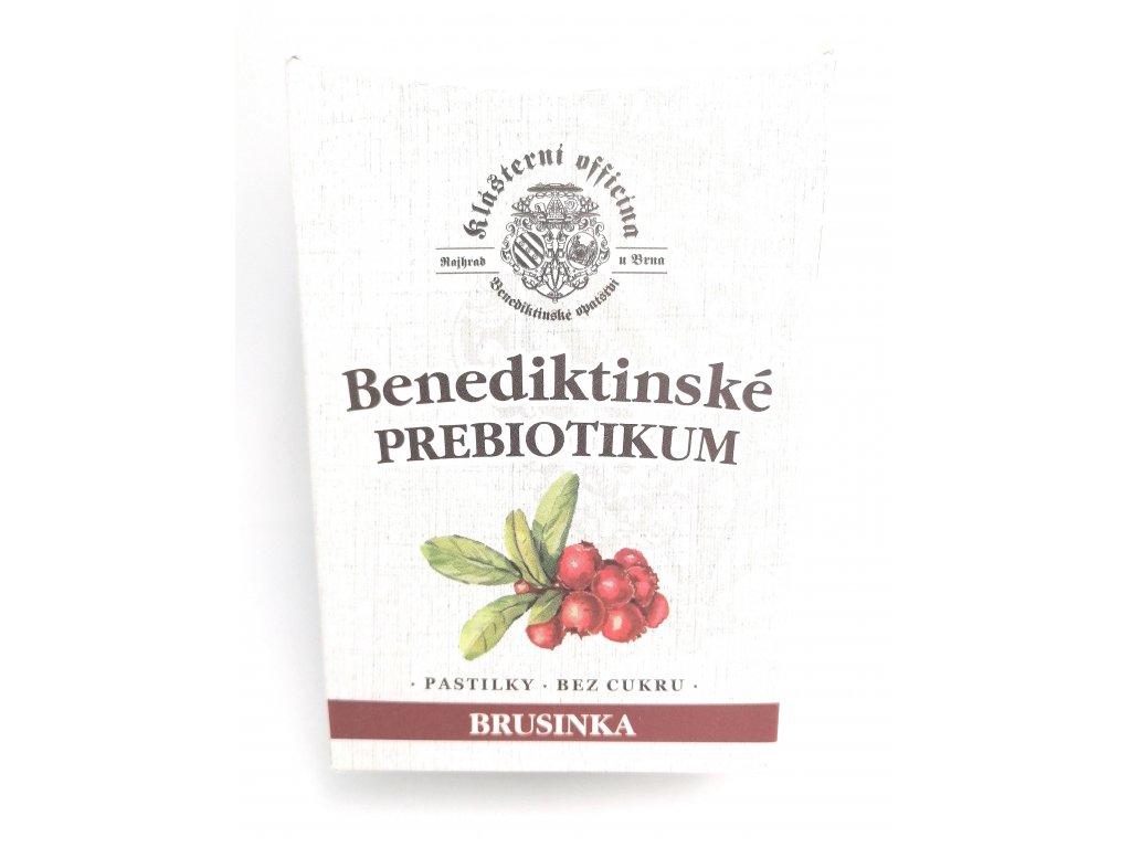 Benediktinské prebiotikum Brusinka