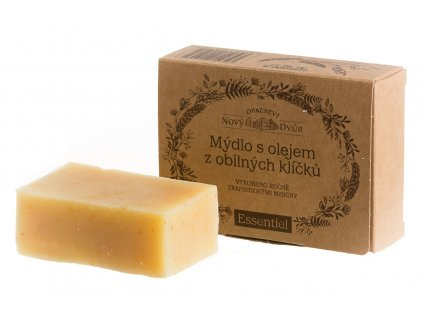 mydlo s olejem z obilnych klicku