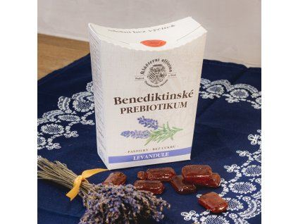 Benediktinské prebiotikum Levandule