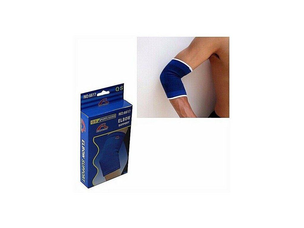 Bandáž na loket Elbow Support modrá