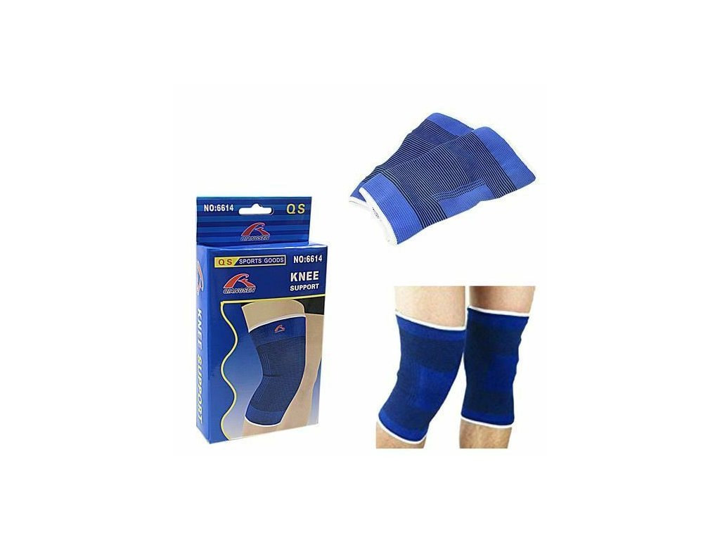 Bandáž na koleno Elbow Support modrá