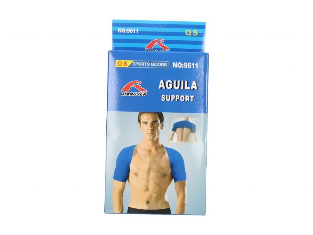 Neoprenová bandáž na obě ramena Aguila Support