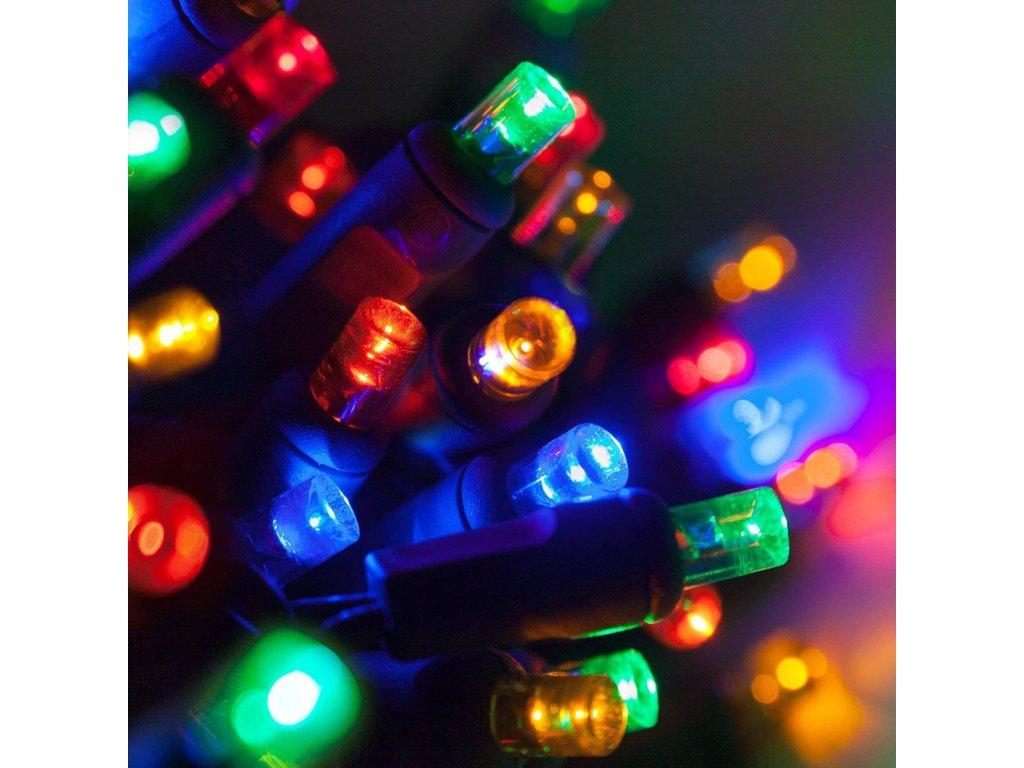 vánoční řetěz barevný