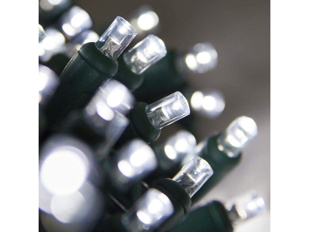Vnitřní LED vánoční řetěz - studená bílá
