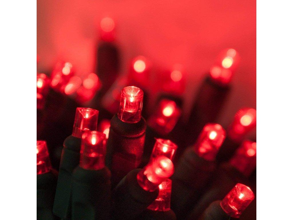 vánoční řetěz - červená
