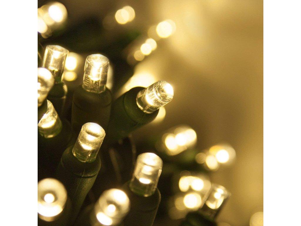 Vnitřní LED vánoční řetěz - teplá bílá