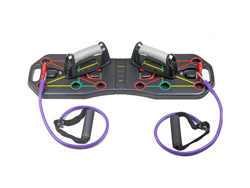Multifunkční posilovací deska na kliky