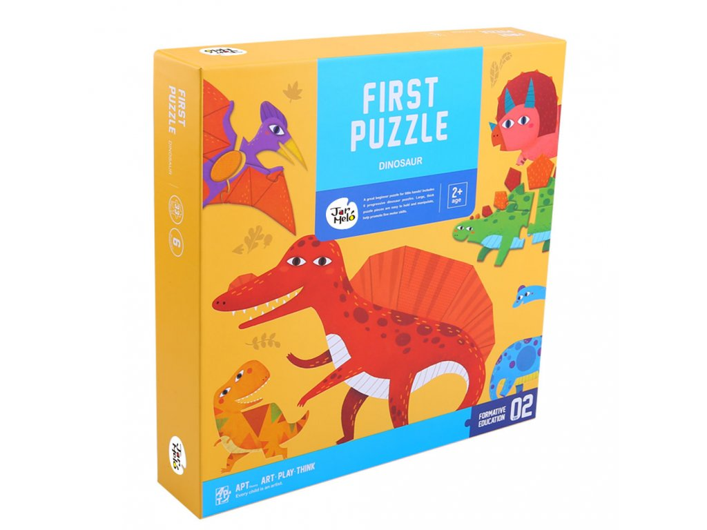 Puzzle Dinosaury 6ks