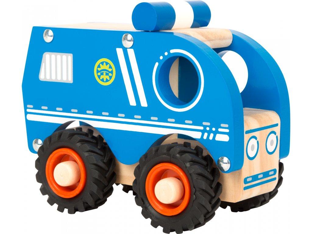 Policajné autíčko Modré