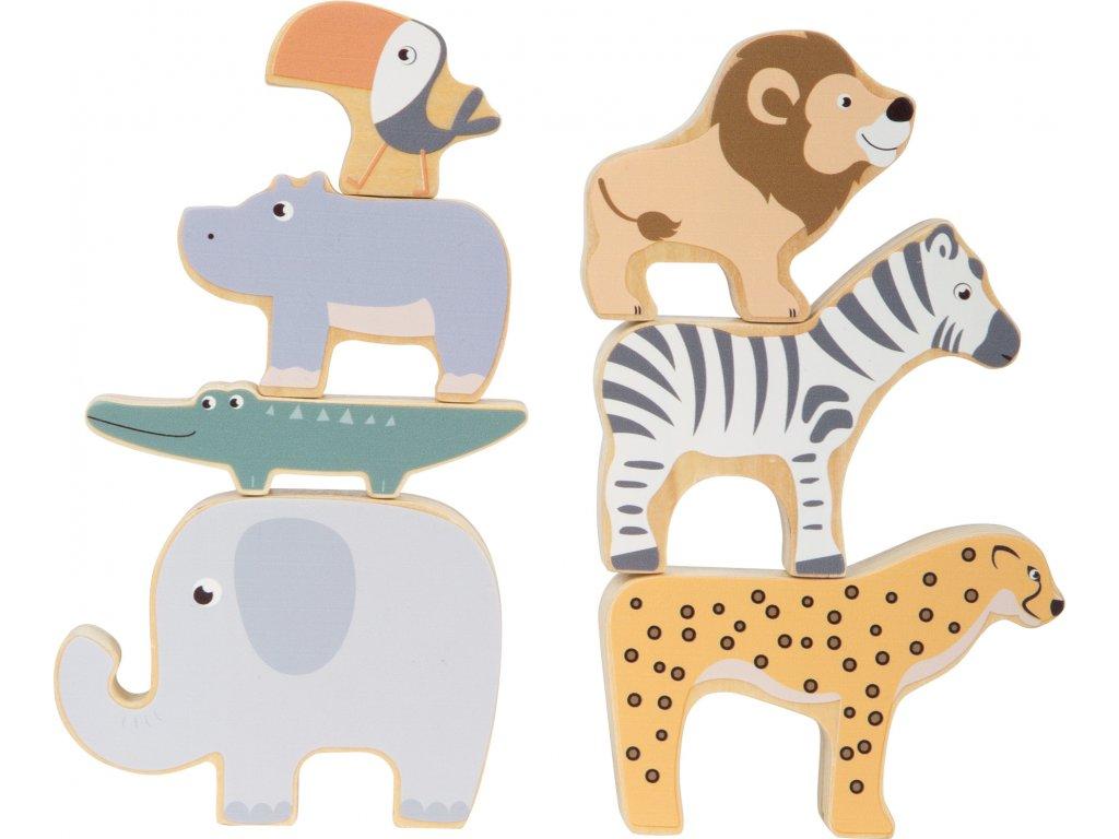 Stohovacie zvieratká Safari