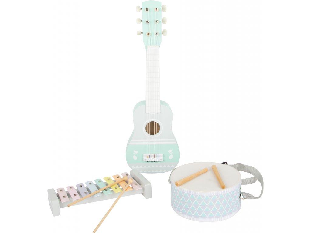 Hudobný set Pastel