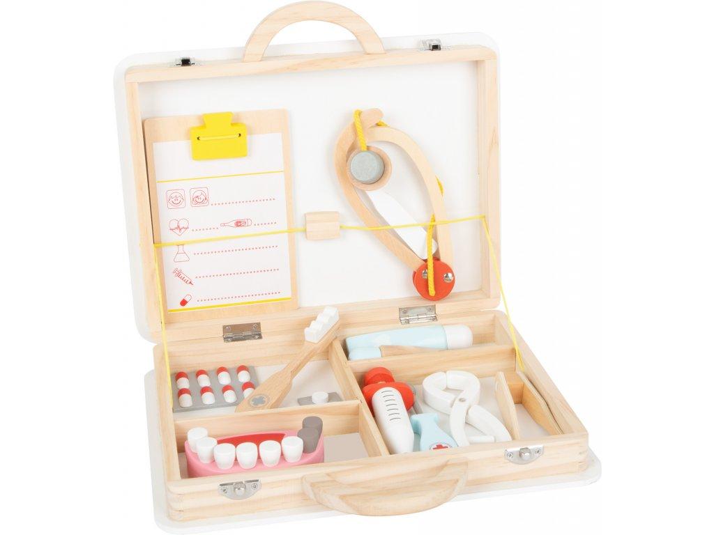 Doktorský a zubársky kufrík pre deti 2v1