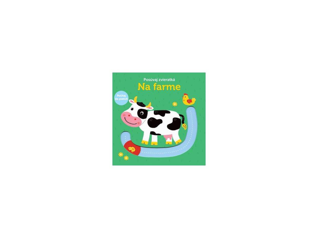 Na farme - posúvaj zvieratká