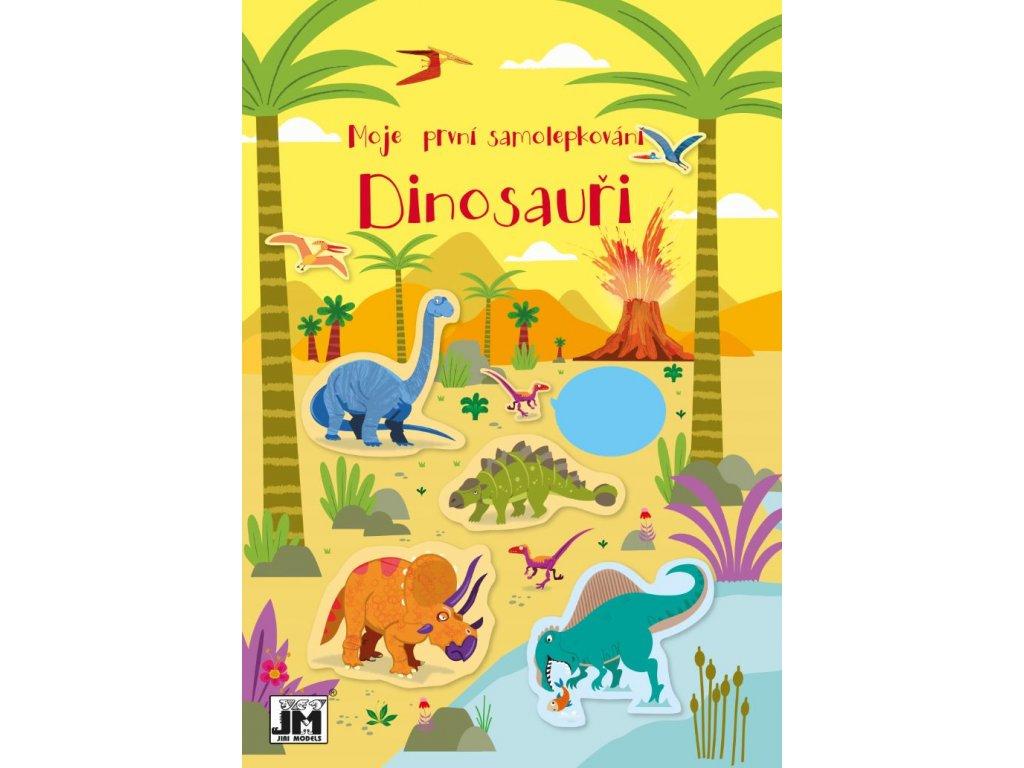Dinosauři První samolepkování