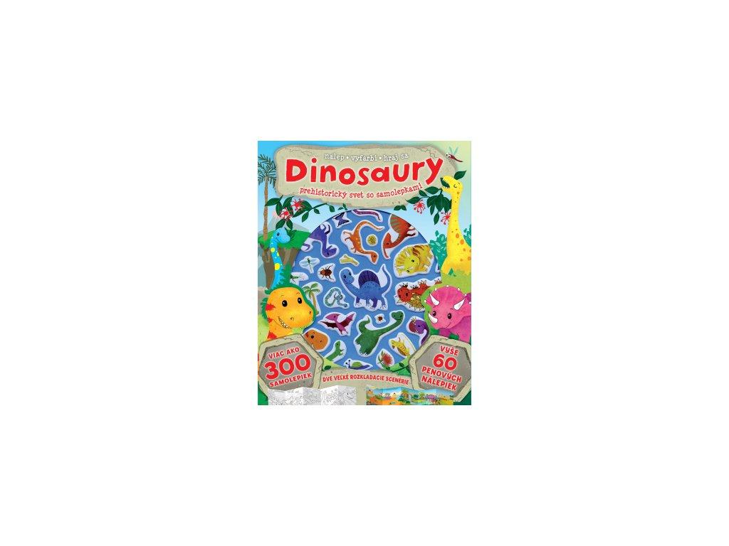 Dinosaury - prehistorický svet so samolepkami