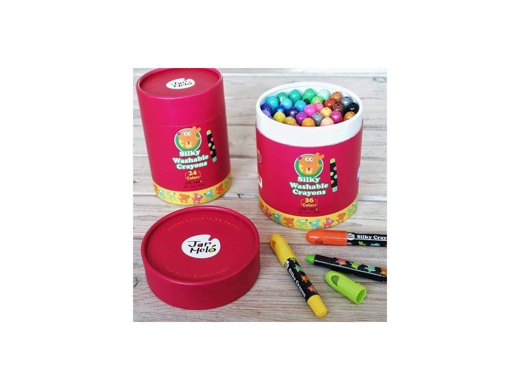 jemne voskovky umyvatelne 36 ks jar melo JA90459 10 500x500