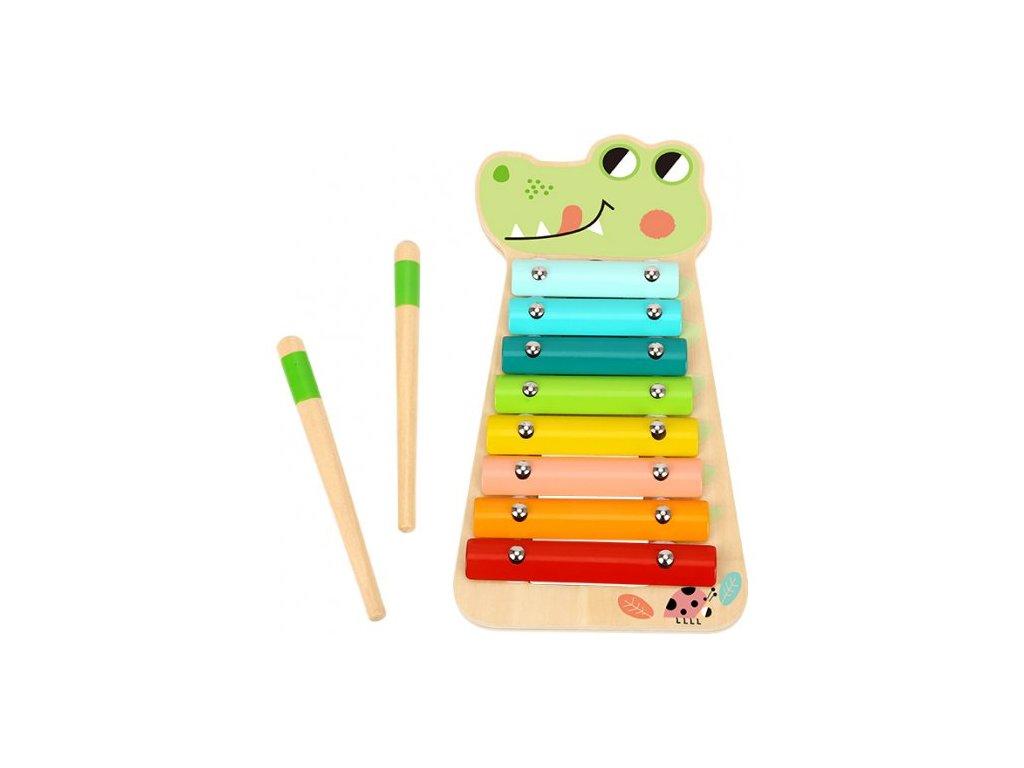 xylofon krokodil tooky toy TF570 1 500x500