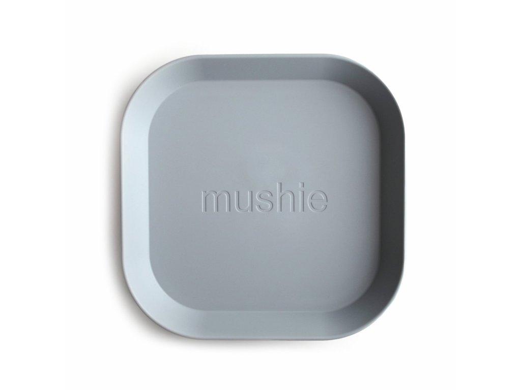 Mushie hranaty tanier 2ks cloud