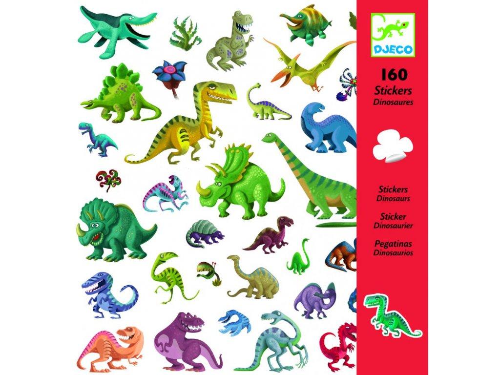 Samolepky  Dinosaury (160 ks)