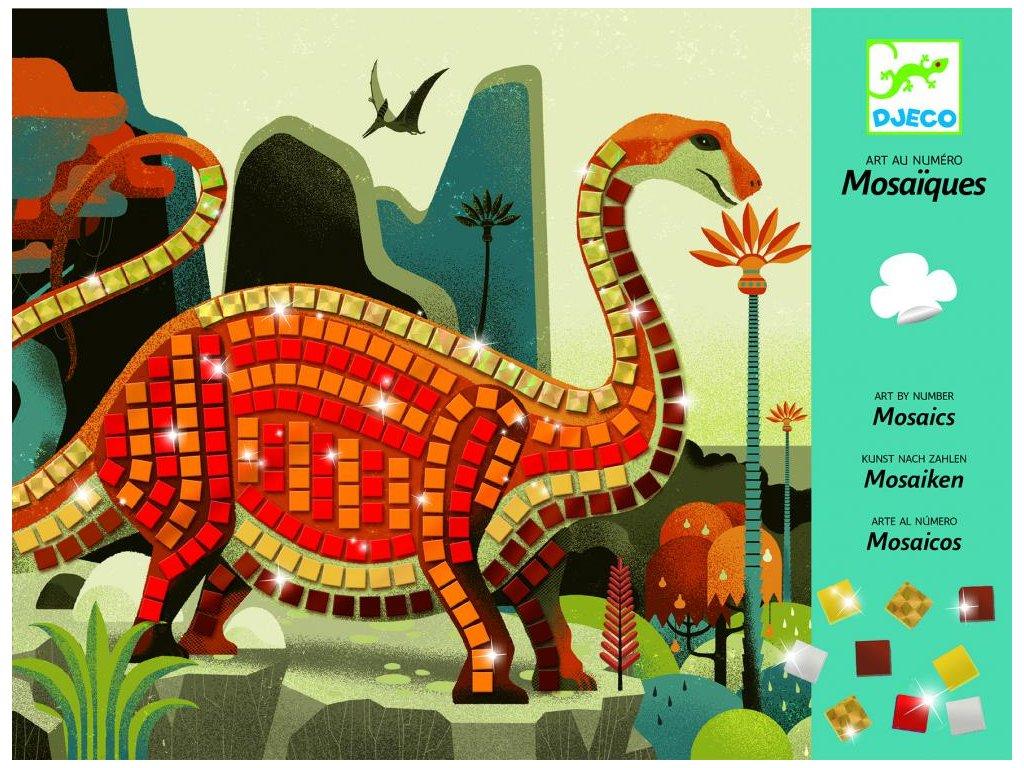 Penová mozaika – Dinosaury