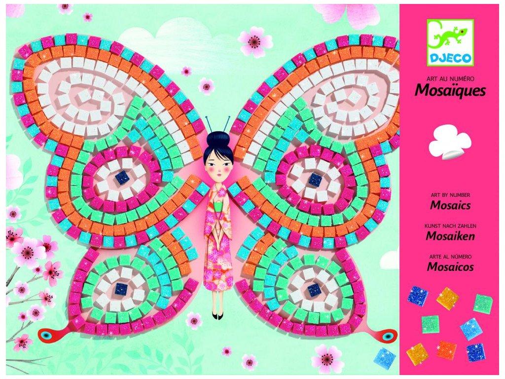 Penová mozaika – Motýle