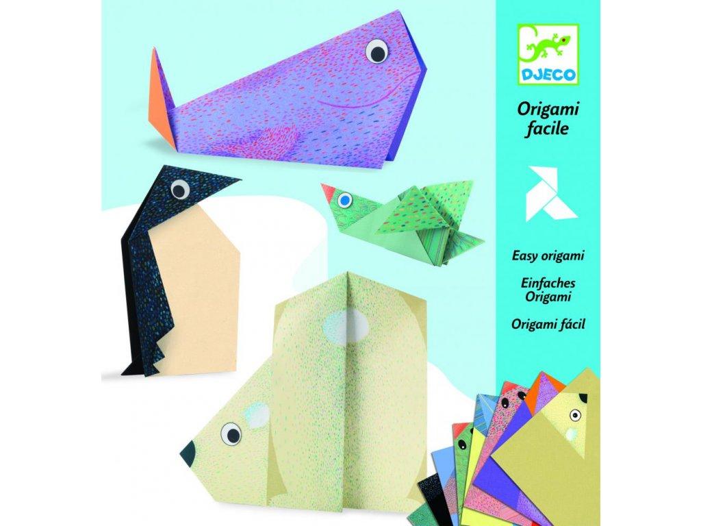 Tvorivá sada Origami - Polárne zvieratká