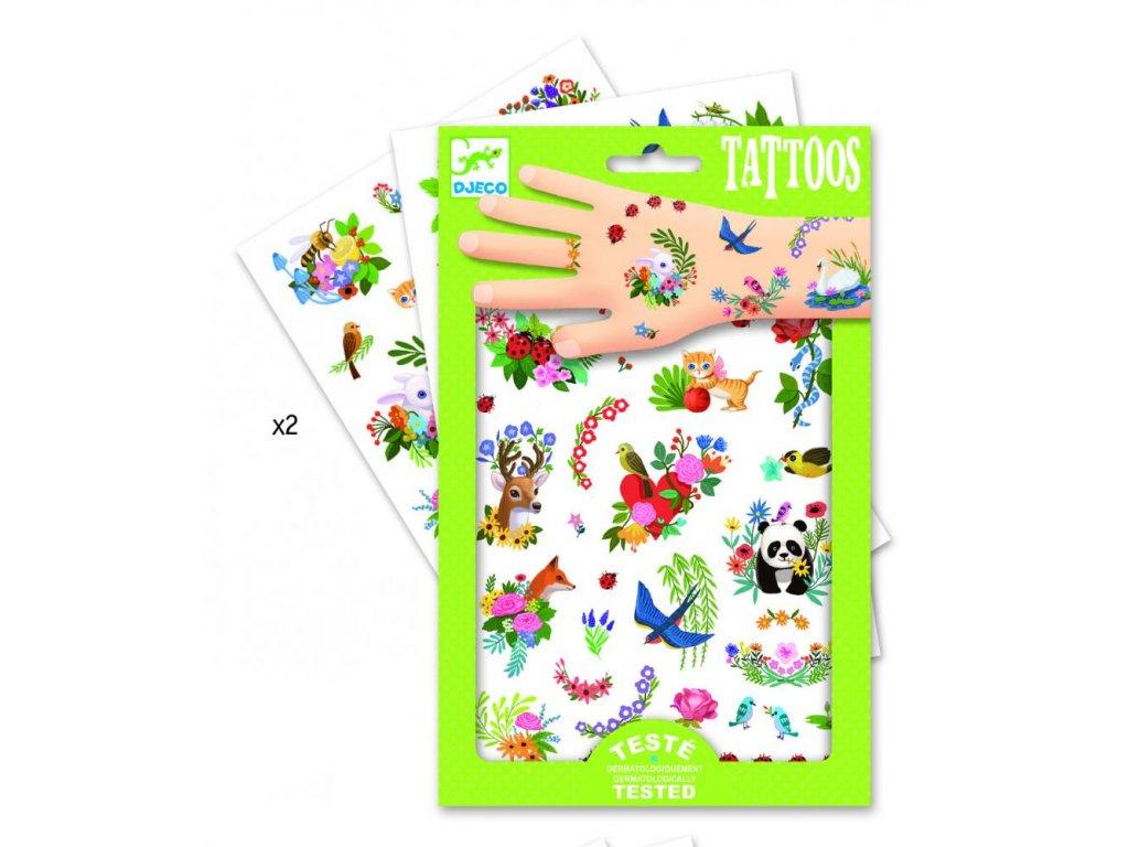 Tetovanie - Radostná jar