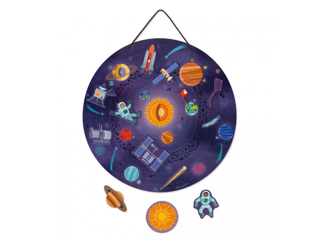 Janod Magnetická hračka Vesmír