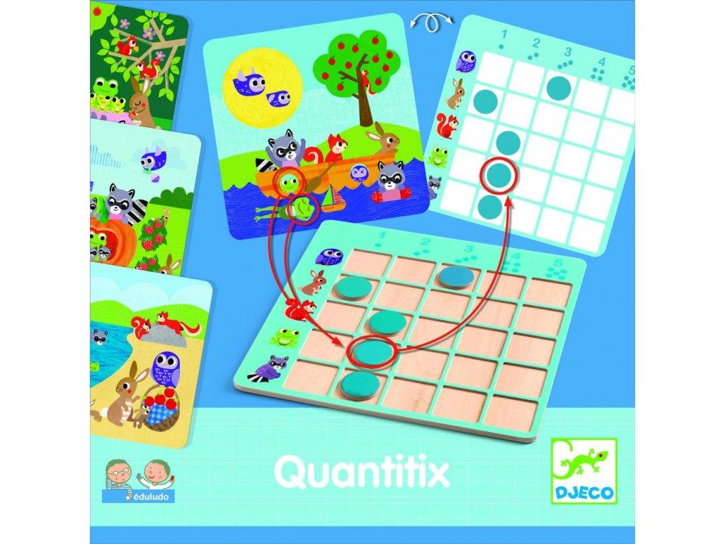 Eduludo-Quantitix-Počítanie do 5