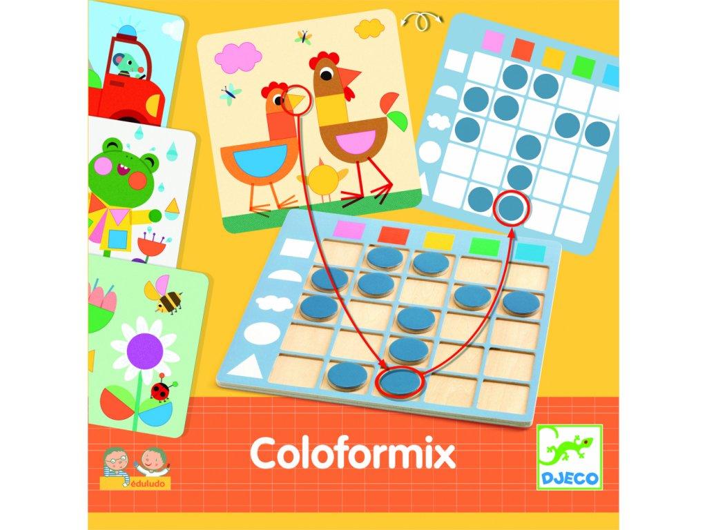 Eduludo - Coloformix - Rozlišovanie farieb a tvarov