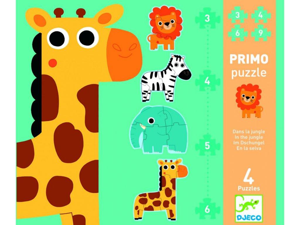 Primo puzzle pre najmenších  Džungľa