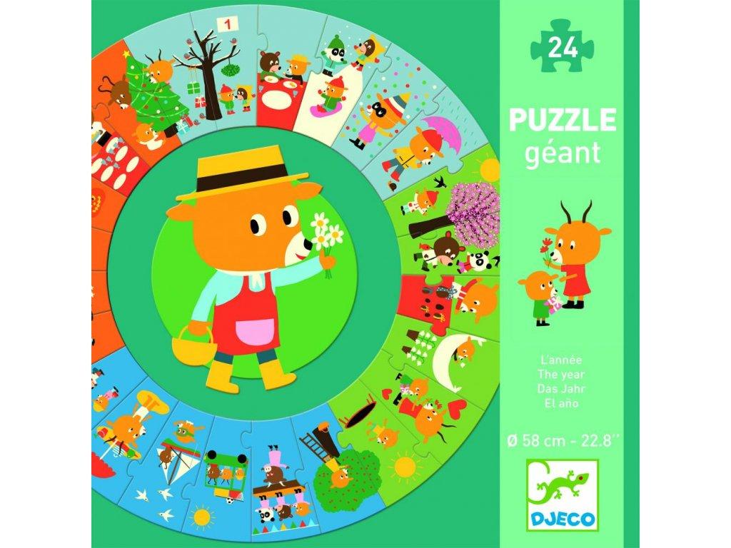 Obrovské puzzle – Rok