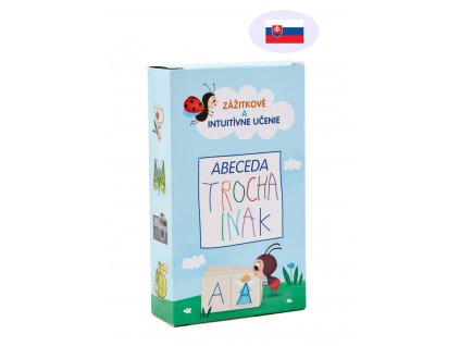 Abeceda TROCHA INAK - Edukačné kartičky - Slovenská verzia